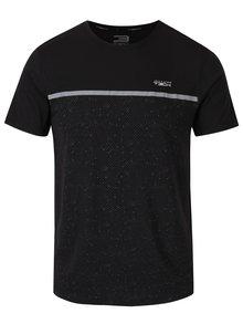 Tricou negru funcțional cu imprimeu discret - Jack & Jones Trigger