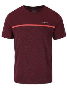 Vínové funkční vzorované tričko Jack & Jones Trigger
