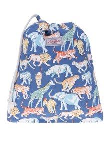 Modrý chlapčenský vzorovaný vak s motívom zvierat Cath Kidston