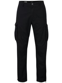 Pantaloni cargo negri bărbătești - Jack & Jones Anakin