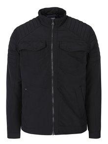 Černá bunda s kapsami Jack & Jones Catel