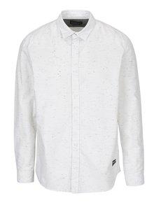 Krémová žíhaná košile Jack & Jones Field