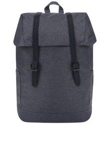 Tmavě šedý batoh Jack & Jones Flap