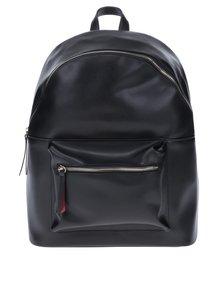 Čierny batoh s detailmi v zlatej farbe Pieces Nuna