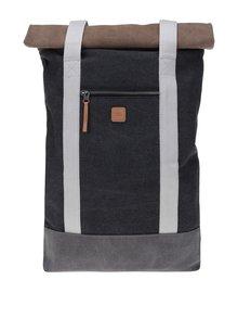 Hnedo-sivý vodovzdorný dámsky batoh/taškaUCON ACROBATICS  Hendrik