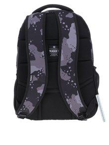 Sivo-čierny maskáčový batoh NUGGET Rapid 26 l