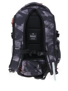 Sivo-čierny batoh NUGGET Arbiter 30 l