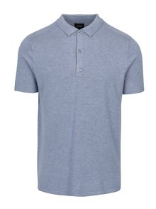 Tricou polo albastru - Burton Menswear London