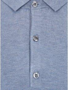 Tricou polo albastru - Burton Menswear London