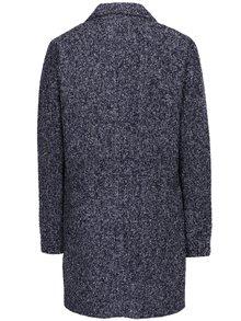 Tmavomodrý melírovaný kabát Jacqueline de Yong Olivia