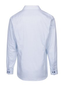 Svetlomodrá tailored fit formálna košeľa Burton Menswear London