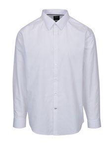 Bílá slim formální košile Burton Menswear London