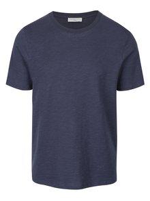 Tmavě modré pruhované tričko Selected Homme Daryl