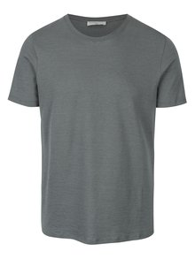Tricou verde din bumbac - Selected Homme Daryl