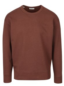 Bluză maro pentru bărbați - Selected Homme Matt