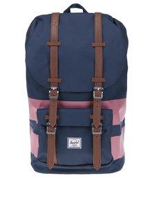 Modro-růžový batoh  Herschel Little America 25 l