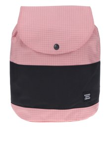 Rucsac urban roz & negru cu imprimeu geometric - Herschel Reid 21 l