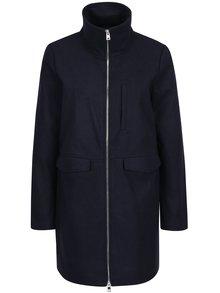 Tmavomodrý kabát so zipsom Noisy May Minna