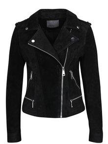 Čierna semišová bunda VERO MODA Royce