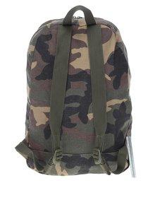 Zelený maskáčový batoh Herschel Packable 24,5 l
