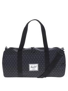 Čierna vzorovaná cestovná taška Herschel Sutton 28 l