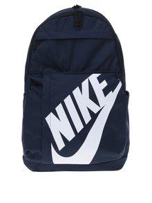 Tmavě modrý batoh s potiskem Nike Elemental