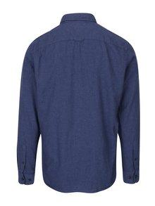 Tmavomodrá košeľa s náprsným vreckom Jack & Jones Voakland