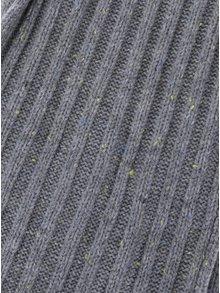 Sivý pletený chlapčenský šál name it Malle