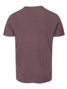 Tricou basic mov - Selected Homme Ben