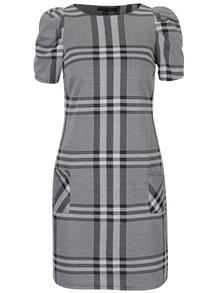 Sivé vzorované šaty s vreckami Dorothy Perkins