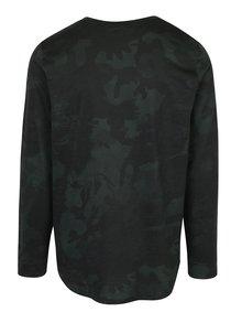 Tmavě zelené pánské tričko s dlouhým rukávem Under Armour