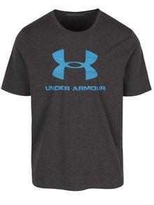 Tmavosivé pánske tričko s krátkym rukávom Under Armour