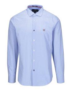Modrá pánska kockovaná košeľa Jimmy Sanders