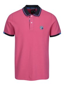 Tricou polo roz pentru barbati  - Jimmy Sanders