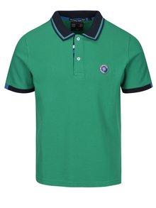 Tricou polo verde pentru barbati - Jimmy Sanders
