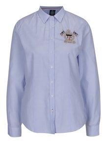 Světle modrá dámská pruhovaná košile s výšivkou Jimmy Sanders