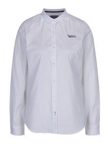Biela dámska košeľa s dlhým rukávom Jimmy Sanders