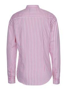 Bielo-ružová dámska pruhovaná košeľa Jimmy Sanders