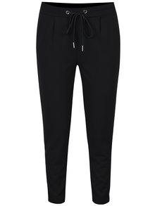 Čierne nohavice s vreckami a pruhmi Haily´s Greta