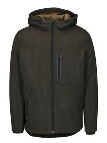Khaki bunda s kapucí Jack & Jones Cool
