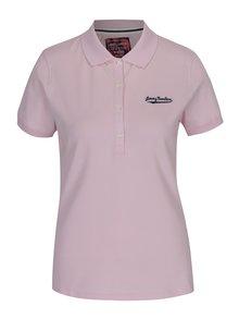 Světle růžové dámské polo tričko Jimmy Sanders