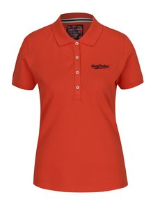 Oranžové dámské polo tričko Jimmy Sanders