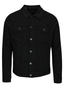 Černá džínová bunda Selected Homme Jeppe