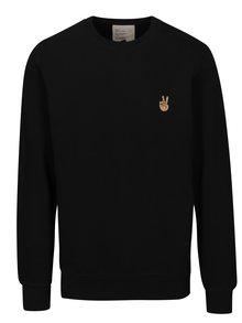 Bluză sport neagră cu mâneci lungi RVLT