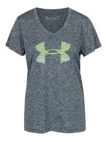 Zelené dámske funkčné tričko s krátkym rukávom Under Armour