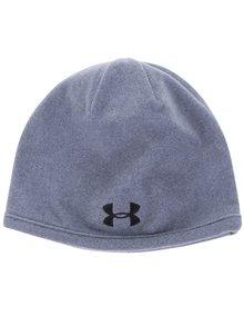Sivá pánska fleecová čapica Under Armour