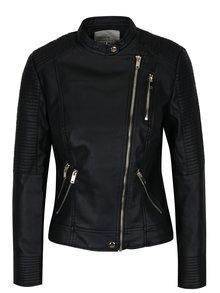 Jachetă biker negră cu fermoare și capse - TALLY WEiJL