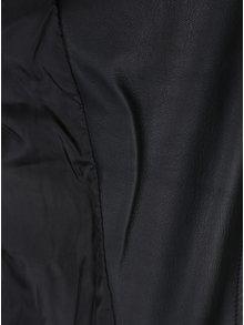 Černý koženkový křivák s prošívanými detaily TALLY WEiJL