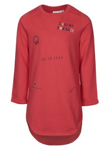 Červené holčičí mikinové šaty name it Kalullu