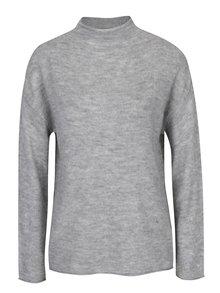 Sivý melírovaný sveter Jacqueline de Yong Alice